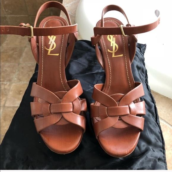 4f262388406 Yves Saint Laurent Shoes | Ysl Tribute Sandals | Poshmark